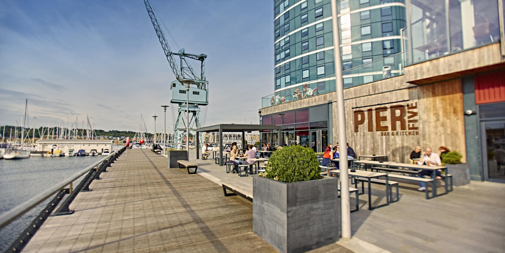 Image result for chatham quays restaurants pier 5